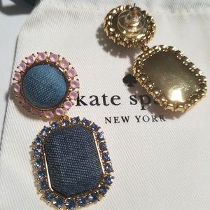 38bd378b5 kate spade Jewelry - Kate Spade Denim Dreams Drop Earrings